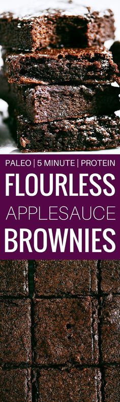 Fudgy Flourless Pale