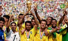 1994 FIFA World Cup winners, Brazil. Football #pdsmostwanted