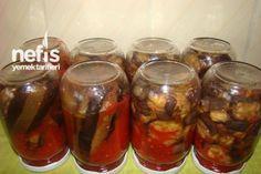 Konserve Karnıyarık ve Musakkalık Patlıcan Kızartması Tarifi