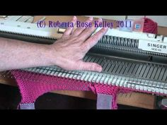 Simply one other method to work up the thumb for a mitten or glove. Knitting Designs, Knitting Tutorials, Brother Knitting Machine, Knitting Help, Knitting Machine Patterns, Knit Mittens, Knit Crochet, Weaving, The Incredibles