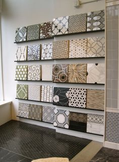 images ann sacks tile | courtney lane * {blog}: Field Trip to Ann Sacks {Designer Tile}