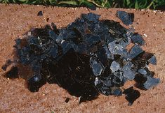 Biotite is the black mica commonly found in many igneous and metamorphic rocks.