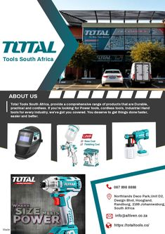 Cordless Tools, You Deserve, Power Tools, Hand Tools, South Africa, You Got This, Industrial, How To Get, The Unit