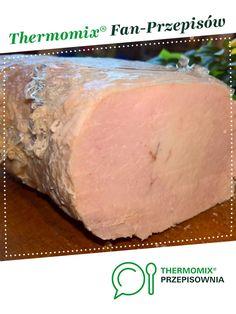 Gotowany schab z galaretką jest to przepis stworzony przez użytkownika Monia i Heniu. Ten przepis na Thermomix<sup>®</sup> znajdziesz w kategorii Przystawki/Sałatki na www.przepisownia.pl, społeczności Thermomix<sup>®</sup>. Food And Drink, Bread, Cheese, Party, Diet, Thermomix, Savoury Pies, Brot, Parties