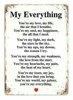 Cute Love Quotes for couples Love is one the most important and powerful thing in this world that keeps us together, lets cherish love and friendship with these famous love quotes and sayings Cute Love Quotes, Love Quotes For Him Romantic, Soulmate Love Quotes, Love Husband Quotes, Love My Husband, Love Quotes For Her, Love Yourself Quotes, True Quotes, You Are My Everything Quotes