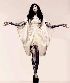 Kat Von D Photo Shoots | Thread: Kat von D, Inked Magazine, February 2010