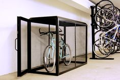 The VisiLocker Bike Locker is one of the safest lockers in the country. The High Security bicycle locker offers riders a safe place to park their bikes and offers the community a safer storage environment as the visibility inhibits people sleeping or storing unsafe items or materials in them.