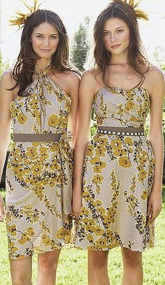 Watters floral bridesmaid dresses: http://watters.com/Product/WattersWatters/1341#Colors:venice print,quarry