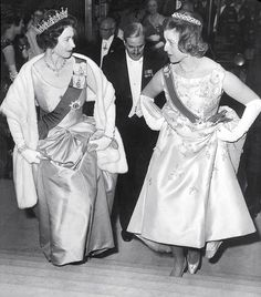 The monarch and her cousin at the Royal Festival Hall in Only days after Princess Alexandra was born — on Christmas Day, 1936 — her father Prince George was discovered 'in the company' of Paula Gellibrand, a noted society beauty married to a former MP Hm The Queen, Her Majesty The Queen, Save The Queen, Queen Mary, Queen Elizabeth Ii, Prince Michael Of Kent, Girls Tiara, Festival Hall, Princess Margaret