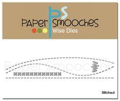 Paper Smooches Stitched Dies