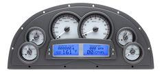 Dakota Digital Instrument System for Marquez Design Fiberglass Dash for 67 68 69 Camaro - VHX-1200