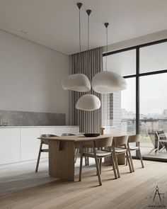 Modern Interior Design, Interior Architecture, Neoclassical Interior, Dining Room Design, Interiores Design, Kitchen Interior, Interior Inspiration, Interior Decorating, House Design