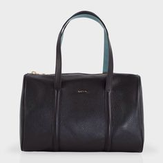 Black Bowling Bag #Paul Smith #Handbags Bowling Bags, Kate Spade, Handbags, Paul Smith, Black, Man Women, Shoe, Accessories, Totes