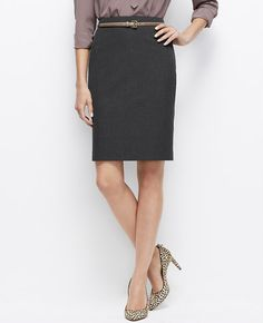 Tall All-Season Stretch Pencil Skirt