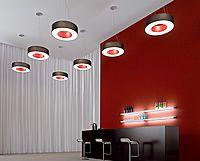 Iluminación decorativa de ROTONDA- con el carácter del feelgood