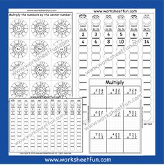 Times Table Worksheets – 19 and 20 – Fifty Worksheets / FREE Printable Worksheets Repeated Addition Multiplication, Multiplication Worksheets, Circle Template, Circle Pattern, 10 Times Table, Times Tables Worksheets, Counting In 5s, Free Printable Worksheets, Learning Colors
