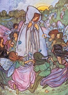 Surrounded By Fairies | Children and Fairies Anytime Art Prints