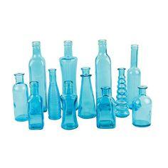 Vintage Bottle Collection, Choose Your Color ct.