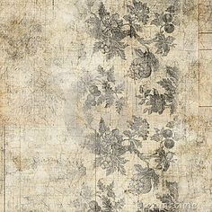 Vintage Paper Ephemera Text Flowers Collage Stock Photos, Images, & Pictures – (18 Images)