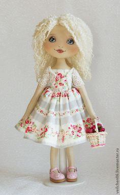Коллекционные куклы ручной работы. Ярмарка Мастеров - ручная работа Алёнка. Handmade.
