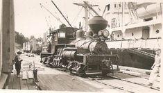 Osborne Bay Wharf 1 (acq. 3/1947 ex Mayo Lbr.) Shay Lima #3147 12/1920. Crofton, VI  Originally, Hillcrest Lumber 1, Cowichan Valley;. (2) Export Lumber Co.; (3) Mayo Lumber Co. Retired 1963. Preserved (conv. narrow gauge) at British Columbia Discovery Center, Duncan, VI.