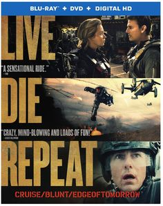 Live Die Repeat: Edge of Tomorrow  Being a Trekkie helped me follow this movie...
