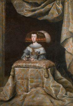 Mariana de Austria, orante - Colección - Museo Nacional del Prado