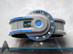 """Star Trek"" Starship Excelsior Watch"