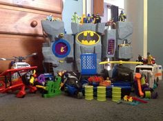Fisher price imaginext Batcave and lots of accessories