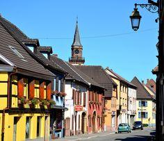 Wintzenheim, Haut-Rhin. Pop: 7592