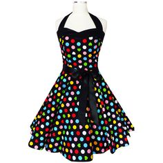 Rockabilly 50er Jahre Kleid Petticoat Polka Dot Leo Pin Up Abendkleid Karneval | eBay
