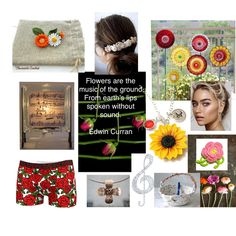 Fashion set Flowers in her hair created via Music Score, Unusual Art, Creative Home, Sell On Etsy, Handmade Crafts, Her Hair, Flower Art, Vintage Shops, Evolution
