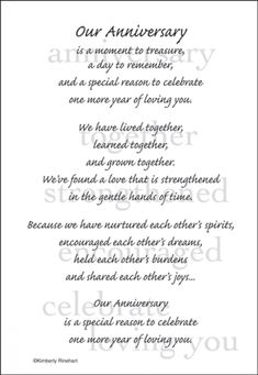 Birthday Wishes For Husband Quotes My Heart 61 New Ideas Wedding Anniversary Poems, Anniversary Quotes For Him, Anniversary Message Couple, Anniversary Scrapbook 1 Year, Anniversary Plans, Anniversary Greetings, Anniversary Funny, Husband Quotes, Amor