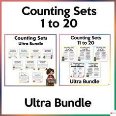 These worksheets are designed to give children practice counting, identifying, and writing the numbers 1-20. These worksheets also provide a motivational resource for teachers to send home as practice after school.The set is printer-friendly as all items are in black and white. The worksheets are in... School Resources, Classroom Resources, Math Activities, Teacher Resources, Teaching Ideas, Classroom Organization, Classroom Management, School Stuff, Back To School