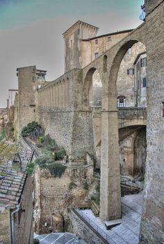 Pitigliano - Acquedotto, province of Grosseto, Tuscany .