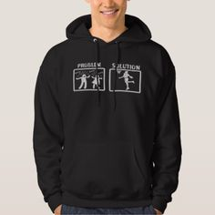 Problem Solution Basketball Hoodie - parenting parents kid children mom dad family