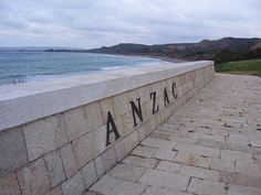 ANZAC cove... Gallipoli