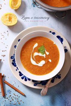 rozgrzewająca zupa z soczewicy, kuchnia marokańska2