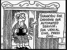 Roman Catholic funny cartoons from CartoonStock directory - the world's largest on-line collection of cartoons and comics. Catholic Jokes, Catholic Answers, Humor Religioso, Sarcasm Humor, Religion Humor, Cartoon Quotes, Christian Humor, Religious Quotes, Roman Catholic