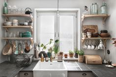 Our small space kitchen copyright 2017 Anna Malmberg 6