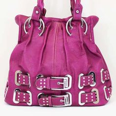 Great new look- double buckle handbag in a muted purple shade. $49 FREE shipping and gift wrap if you want that.