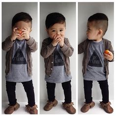 If I ever have a boy, I hope he is this adorable Toddler Boy Fashion, Little Boy Fashion, Toddler Boys, Baby Kids, Kids Fashion, Little Man Style, Little Boys, Baby Boy Outfits, Kids Outfits