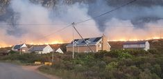 """Tragic Loss of Life in Betty's Bay Fire After """"Traumatic Night"""". South African News, 18 Month Old, Knysna, Eve, Flare, Woman, Night, House Styles, Bengal"""