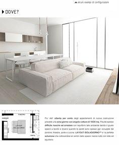 Innovativo sistema tavolo-divano per open space: Isolagiorno Farm Srl - Layout the Original