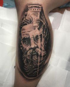 Zeus tattoo artist Xristos_Adamhs insta