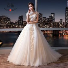 2017 summer new two-piece wedding dress bride fashion simple Slim was thin married Qi small tail