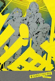 Tags: Scan, Official Art, Shaft (Studio), Shidu, Kagerou Project, Kido Tsubomi, Kano Shuuya, Seto Kousuke