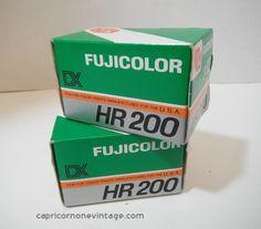 Vintage 1980s Fuji Color Film Expired 1987 by CapricornOneEphemera, $10.00