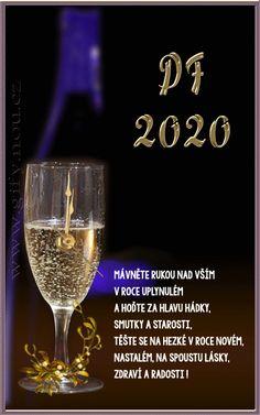 Gify Nena - Nový rok 1 Flute, White Wine, Alcoholic Drinks, Champagne, Tableware, Glass, Dinnerware, Drinkware, Tablewares