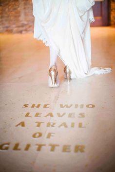 #bride #glitters #heart